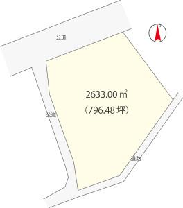 栗崎区画図
